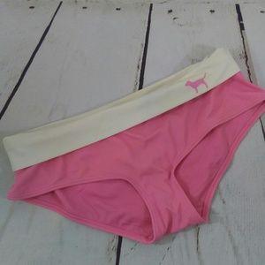 Pink logo Victoria's Secret bikini bottom